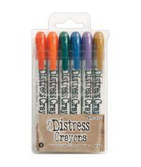 Distress Crayon Set #9