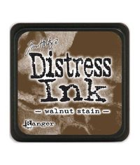 Walnut Stain - Mini  Distress ink pad