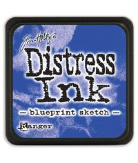 Blueprint Sketch - Mini  Distress ink pad