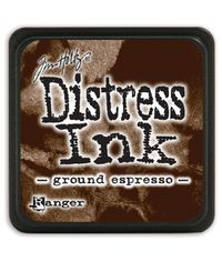 Ground Espresso - Mini  Distress ink pad