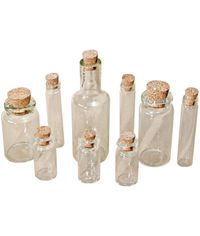 Corked Glass Vials