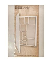"Idea-Ology Configurations Chipboard Shadowbox Book 9""X12"""