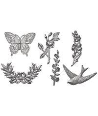 Metal Nature Adornments