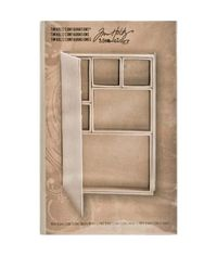 "Idea-Ology Configurations Mini Chipboard Shadow Box Book 6""X9"""