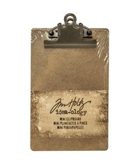 Mini Clipboard - Brown
