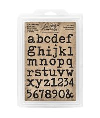 Type Lowercase Alpha  - Stamp