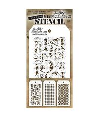 Tim Holtz Mini Layered Stencil Set #7