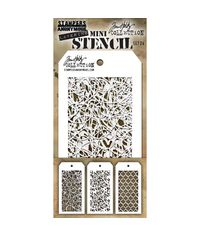 Mini Layered Stencil Set 3/Pkg Set #24