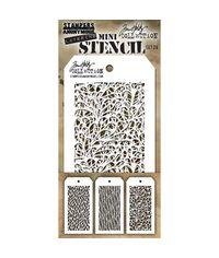 Tim Holtz Mini Layered Stencil Set #26