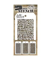 Tim Holtz Mini Layered Stencil Set #28