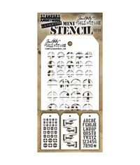 Tim Holtz Mini Layered Stencil Set #29