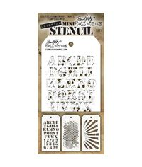 Tim Holtz Mini Layered Stencil Set # 5