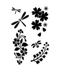Japanese Garden - Stencils