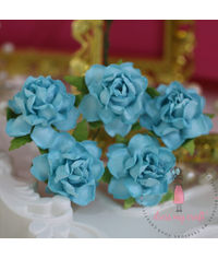 Twisted Roses - Soft Blue