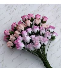 Pink Tone - Twisted Rose Buds Combo