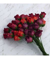 Red Tone - Twisted Rose Buds Combo