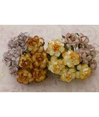 Curved Roses Combo - Earth Tone