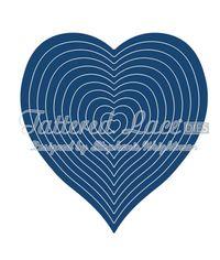 Essentials Nesting Hearts - Die
