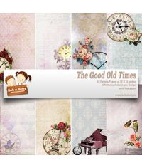 "The Good Old Times 12""X12"", 24/pkg"