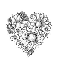Heart of Blossoms - Stamp