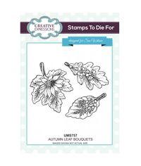 Autumn Leaf Bouquets - Stamp
