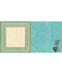 """Ladies and Gents Groomed Traveler - 25 Pcs of 12"""" x 12"""" Paper"""