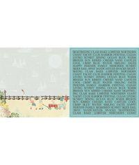 """Yacht Club Boardwalk - 25 Pcs of 12"""" x 12"""" Paper"""