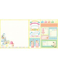 """Let's Celebrate You're Invited - 25 Pcs of 12"""" x 12"""" Paper"""
