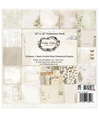 "Vintage Artistry Collection Pack 12""X12"" 9/Pkg"