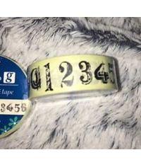 Washi Tape - Number