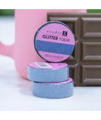Light Blue - Glitter Washi Tape
