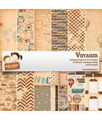 """Voyager Paper Pack 12""""X12"""", 36/Pkg"""