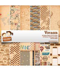 """Voyager Paper Pack 6""""X6"""", 36/Pkg"""