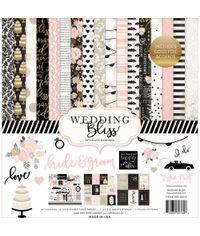 "Wedding Bliss Paper Pad 12""X12"""