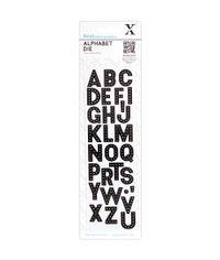 "Headliner Xcut Alphabet Dies 2.5""X8.5"""
