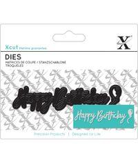 Happy Birthday Sentiment - Die