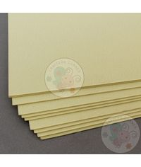 Pastel Yellow Cardstock - 300 GSM