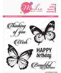 Beautiful Butterflies - Stamp