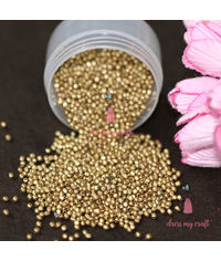 Golden Antique Beads