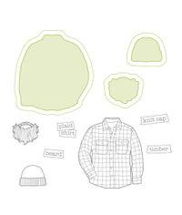 Plaid Shirt - Stamp & Die Set