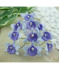 Pale Lilac and Lilac/Blue - Orchids Combo