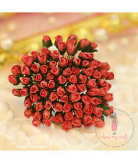 Micro Rose Buds - Soft Red