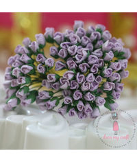 Micro Rose Buds - Lilac