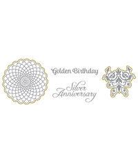 Golden Birthday - Stamp & Die Set