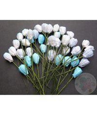 Blue Tone - Tulip Buds Combo