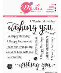 Wishing you - Stamps