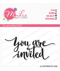 You are invited - Stamp