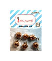 Beige - Hanging Pearls