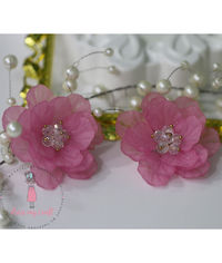 Big 3D Fairy Flowers - Pink