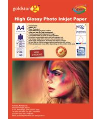 Gocolor High Glossy Inkjet Paper 185Gsm A4  50 Sheets
